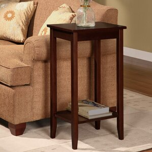 Winston Porter Noble Rosewood Tall End Table