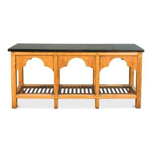 Sarreid Ltd Railroad Trestle Console Table