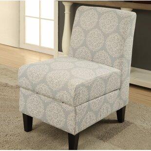Bungalow Rose Burritt Slipper Chair