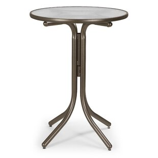Obscure Acrylic Round Bar Table by Telescope Casual Great price