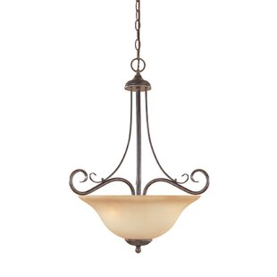 Fleur De Lis Living Westford 3-Light Bowl Pendant