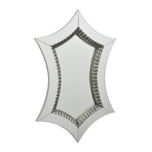 House of Hampton Ceron Wood Accent Mirror