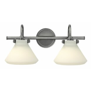 Mercury Row Bunnell Contemporary 2-Light Vanity Light