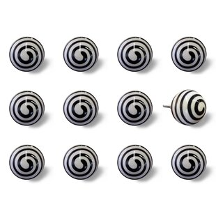 Handpainted Round Knob (Set of 12)