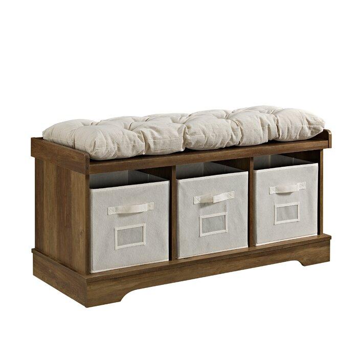 Excellent Bucyrus Storage Bench Machost Co Dining Chair Design Ideas Machostcouk