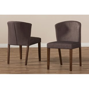 Seltzer Upholstered Dining Chair (Set of 2) Ivy Bronx