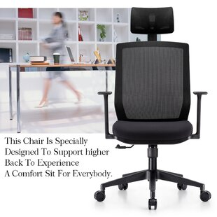 Mefford Mesh Task Chair by Ebern Designs Wonderful