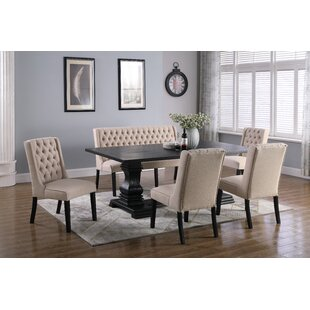Butera 6 Piece Dining Set Canora Grey