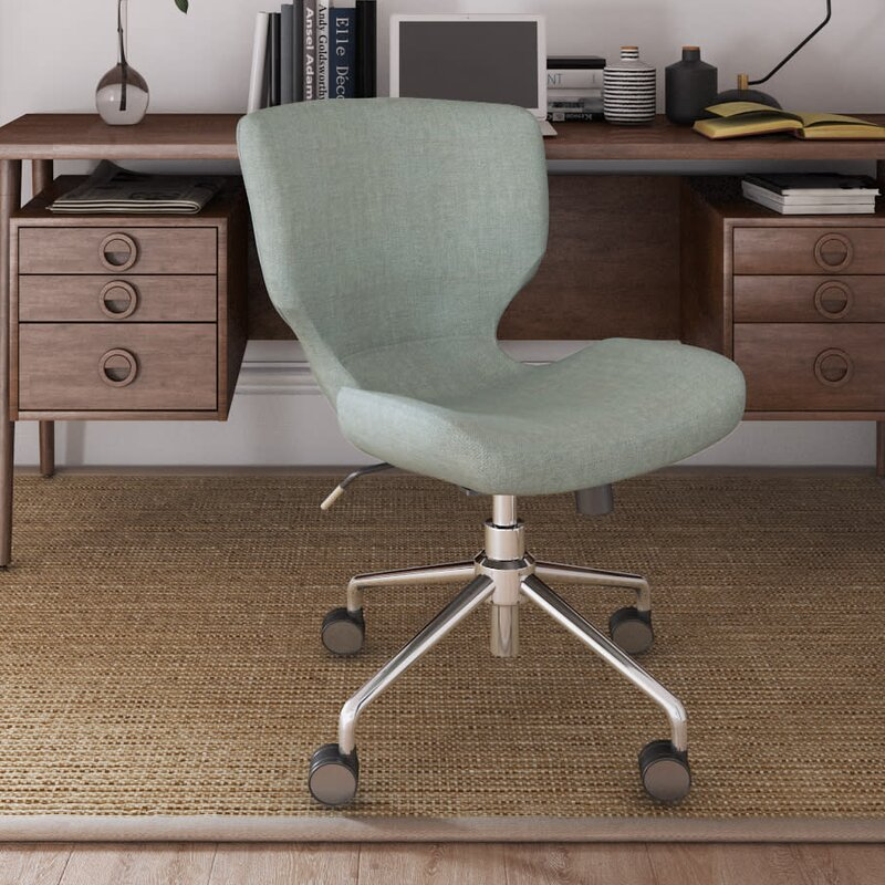 Madeline Hourglass Desk Chair