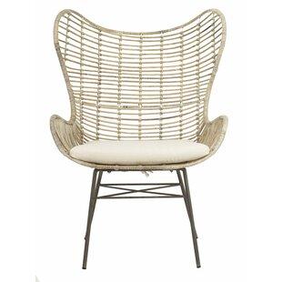 Brindley Rattan Wingback Chair