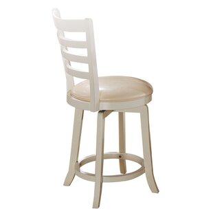 Natalya Dining Chair with Swivel (Set of 2) Highland Dunes
