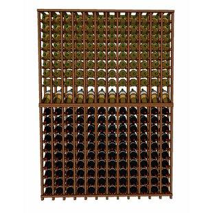 Premium Cellar Series 240 Bottle Floor Wine Rack