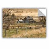 16 by 24-Inch ArtWall ArtApeelz Cody York CVNP Barn Removable Graphic Wall Art