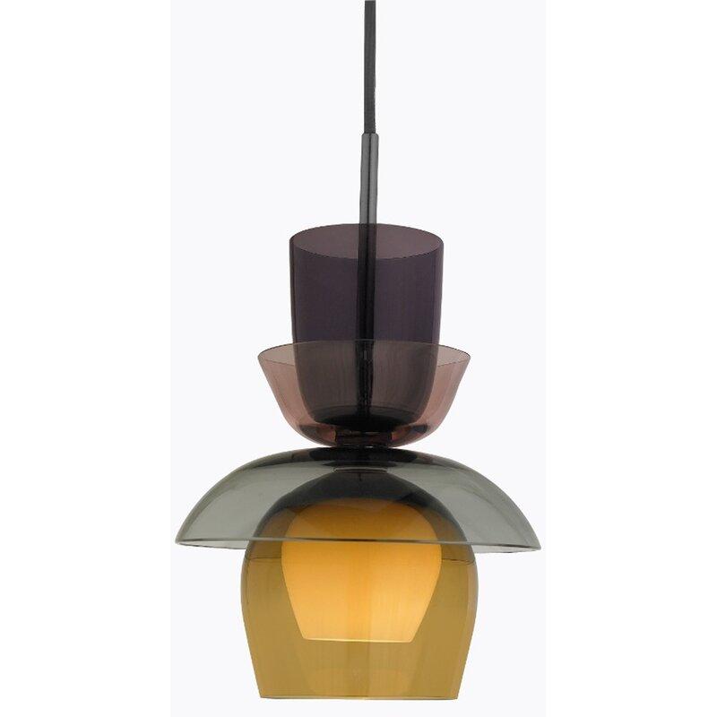 Oggetti Cascade 1 Light Unique Bell Pendant Wayfair