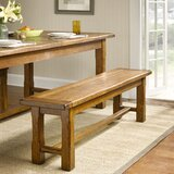 Lauren Dining Wood Bench by Harbor House
