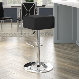 Affordable Norcross Adjustable Height Swivel Bar Stool (Set of 2) by Orren Ellis Reviews (2019) & Buyer's Guide