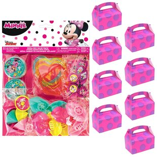 Minnie Mouse 8 Guest Paper Disposable Party Favor Set (Set Of 4) by NA Best Design
