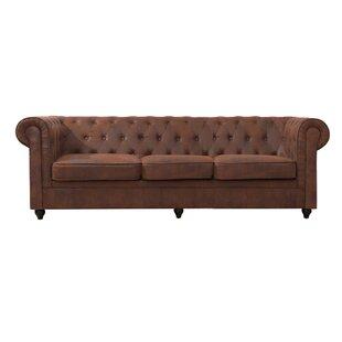 Tyringham 3 Seater Chesterfield Sofa By Rosalind Wheeler