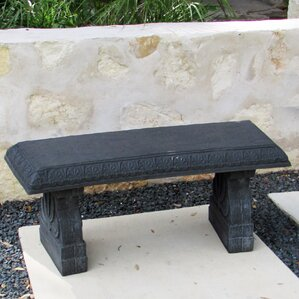 Cast Stone Concrete Outdoor Benches Youll Love Wayfair