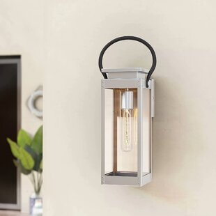 Jimena 1-Light Outdoor Flush Mount