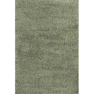 Mazon Tweed Teal Blue/Ivory Area Rug