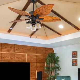 Read Reviews 52 Lambeth 5 Blade LED Ceiling Fan By Bay Isle Home