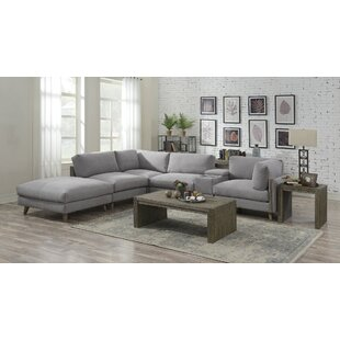 Rowling 6 Piece Reversible Modular Sectional Brayden Studio