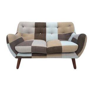 Read Reviews Hills Patchwork Loveseat by Brayden Studio Reviews (2019) & Buyer's Guide