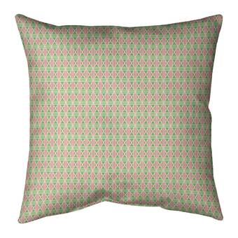 East Urban Home Mcguigan Geometric Diamonds Cotton Throw Pillow Wayfair