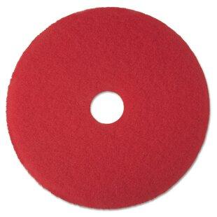 3M Buffer Pad- 12 Red 5 Pads/Carton