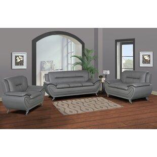 Lester 3 Piece Living Room Set