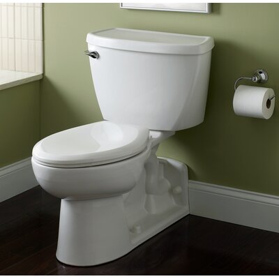 American Standard Flowise 1.1 GPF (Water Efficient) Elongated Two-Piece Toilet (Seat Not Included)