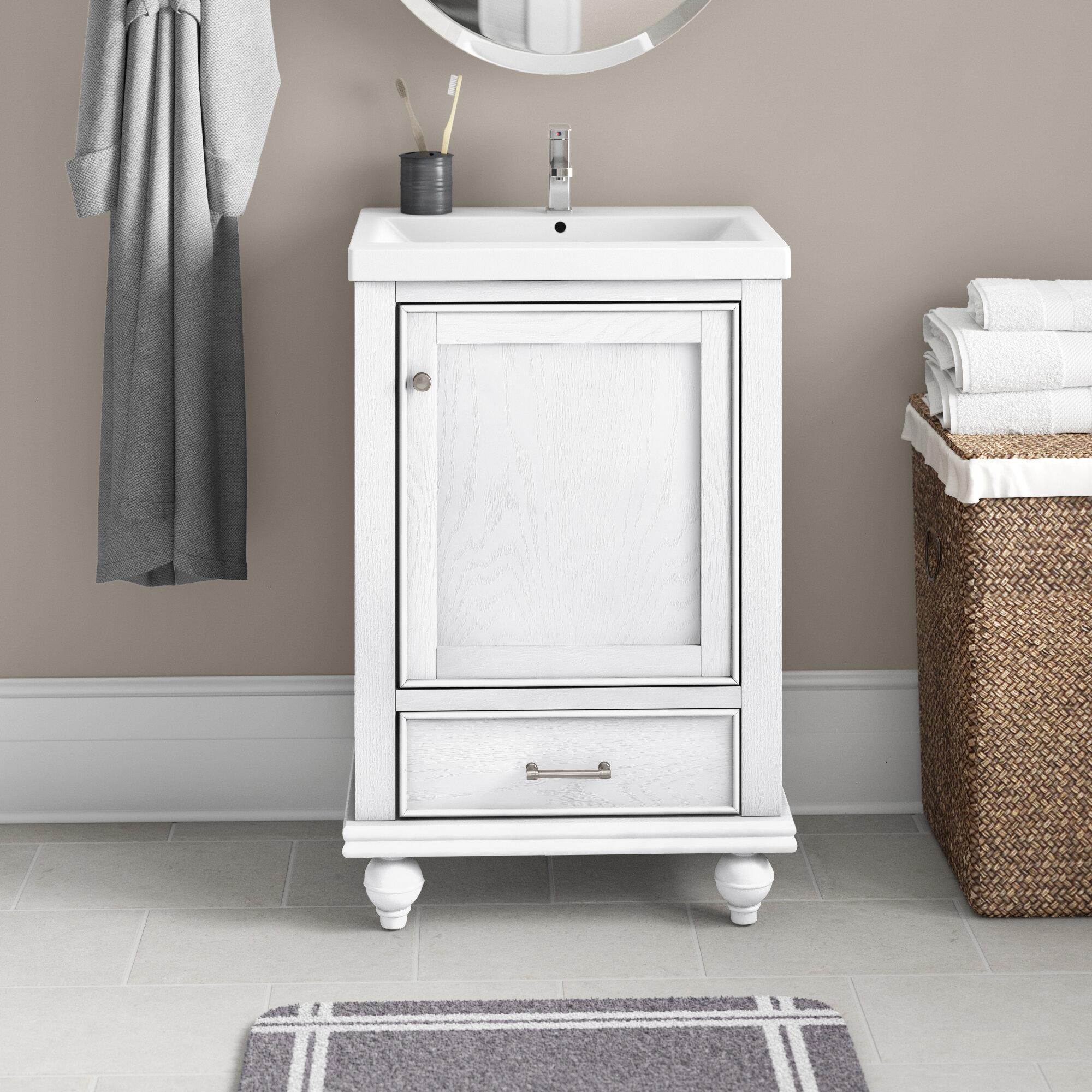 Three Posts Belton 20 Single Bathroom Vanity Set Reviews Wayfair