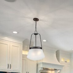 Breakwater Bay Schrock 2-Light Inverted Pendant