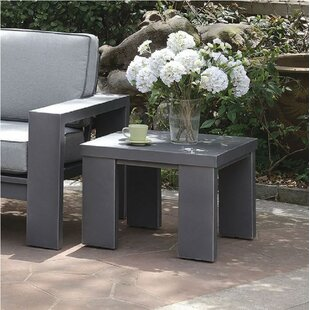Ria Aluminum Side Table