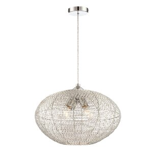 Brayden Studio Ayana 4-Light Globe Chandelier