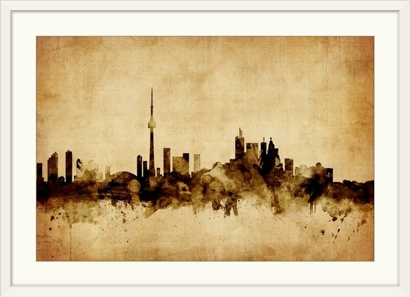 Great Big Canvas Toronto Canada Skyline By Michael