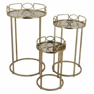 Frerichs Gothic 3 Piece Nesting Tables by Everly Quinn