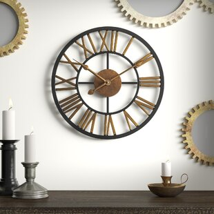 Searching for Round Wall Clock by Darby Home Co