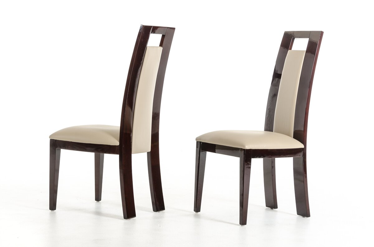 Elegant Straughter Parsons Upholstered Dining Chair Set
