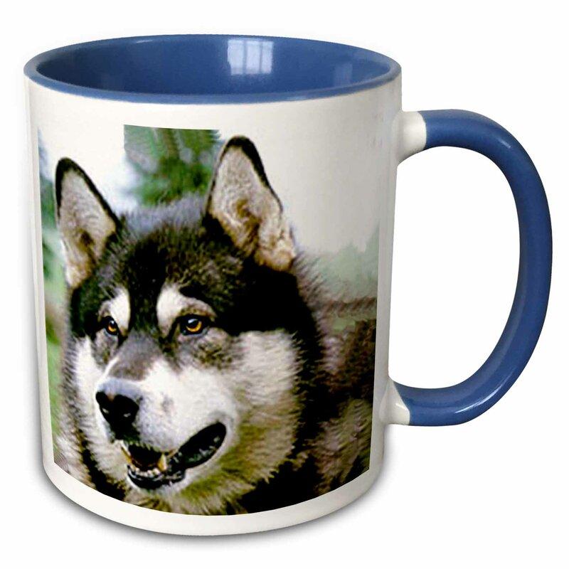 Winston Porter Firestone Alaska Malamute Coffee Mug Wayfair