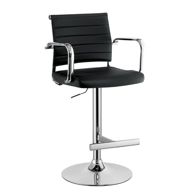 Northpoint Adjustable Height Bar Stool