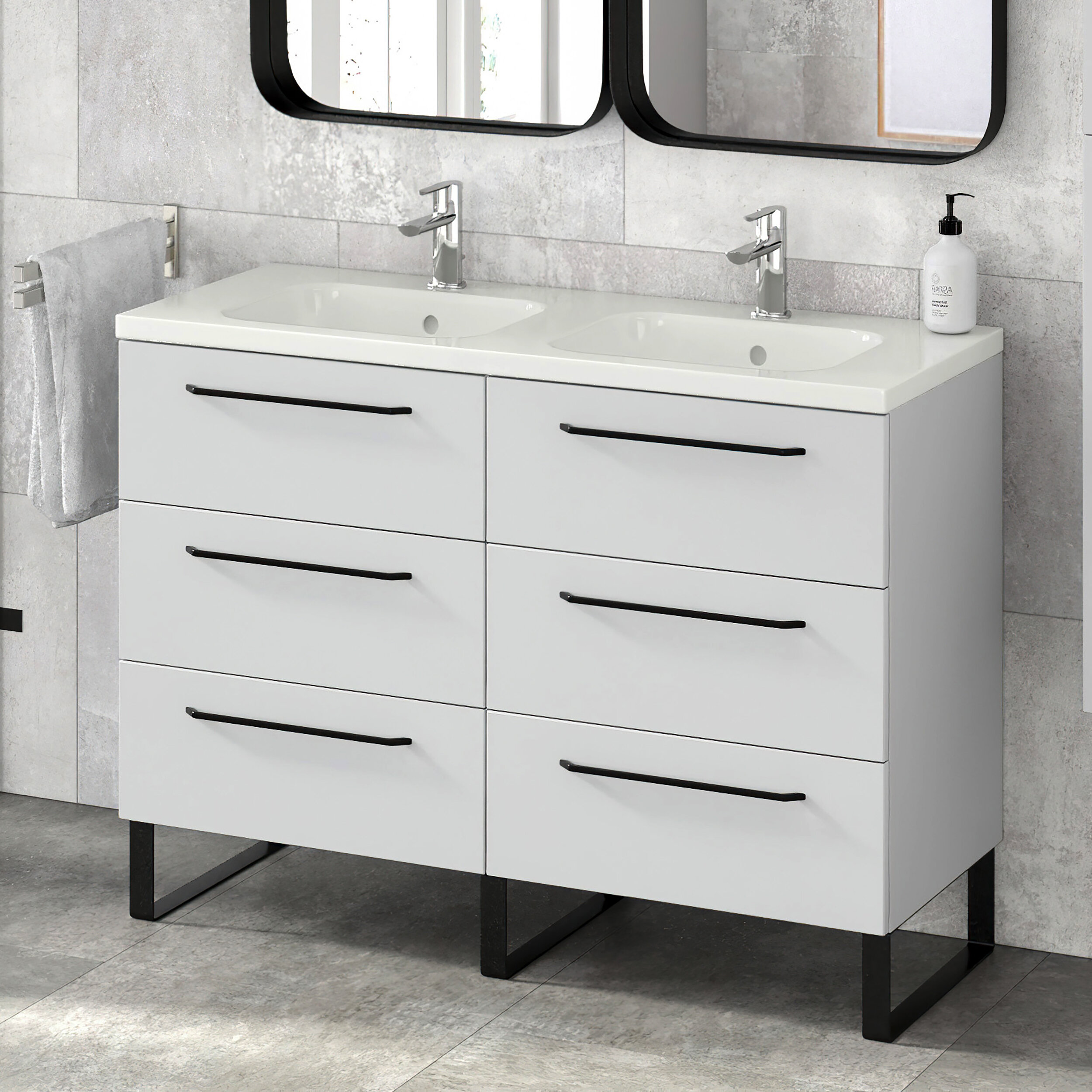 Double Made In Usa Bathroom Vanities You Ll Love In 2021 Wayfair