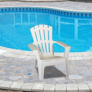 Martindale Plastic Adirondack Chair (Set of 4) by Rosecliff Heights