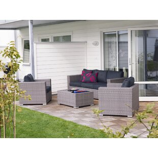 5 Seater Rattan Sofa Set By Sol 72 Outdoor