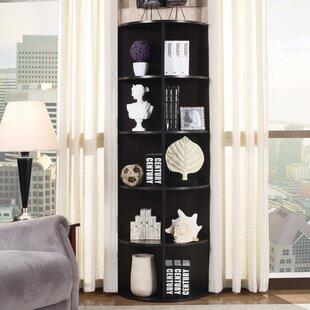 Sarambounou Open Rounded Corner Unit Bookcase by Ebern Designs