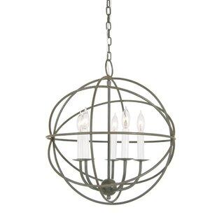 Pasley 5-Light Pendant by Breakwater Bay