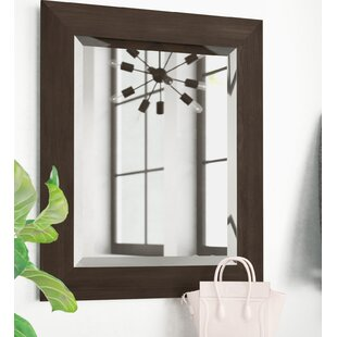Order Black Walnut Wall Mirror By Latitude Run