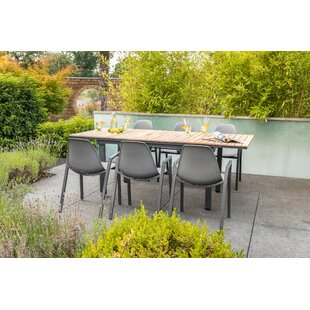 Menara 6 Seater Dining Set By Sol 72 Outdoor