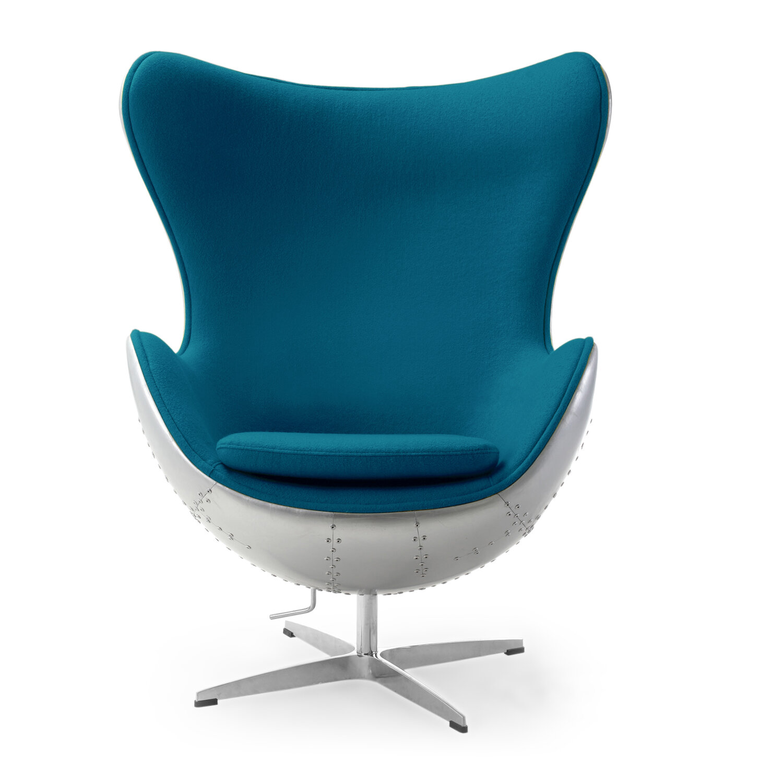 Orren Ellis Deniela Wool Balloon Chair | Wayfair